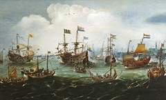The Return to Amsterdam of the Second Expedition to the East Indies on 19 July 1599