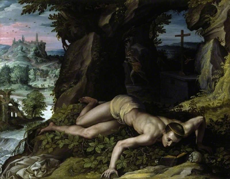 The Temptation of St Benedict