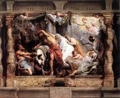 The Triumph of the Eucharist over Idolatry