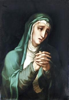 The Virgin Dolorosa