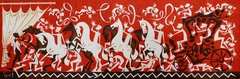 The Way. 2011. Canvas, oil. 100x300 cm