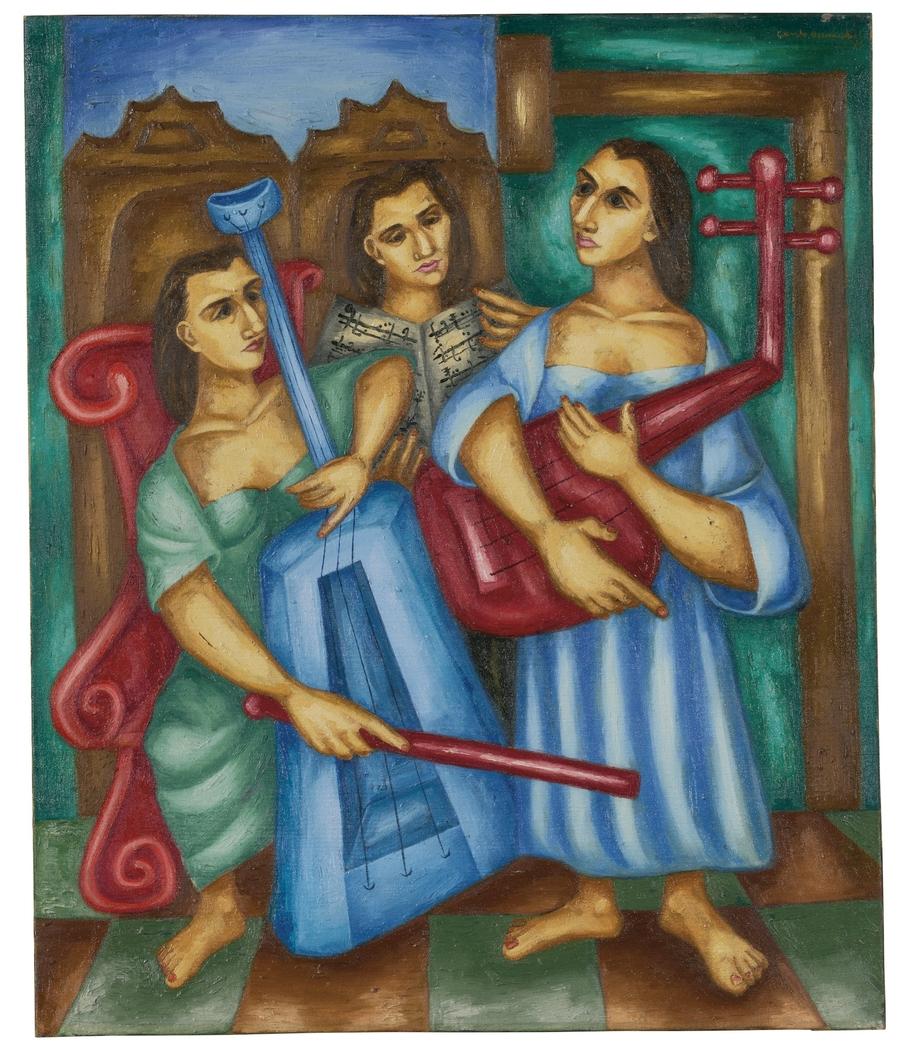 Tres Músicos - Three Musicians