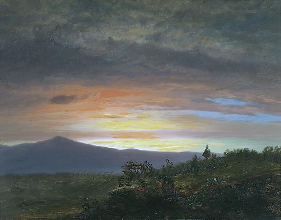 Twilight, Mount Ktaadn