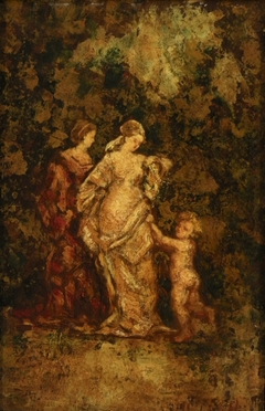 Two Women and a Child