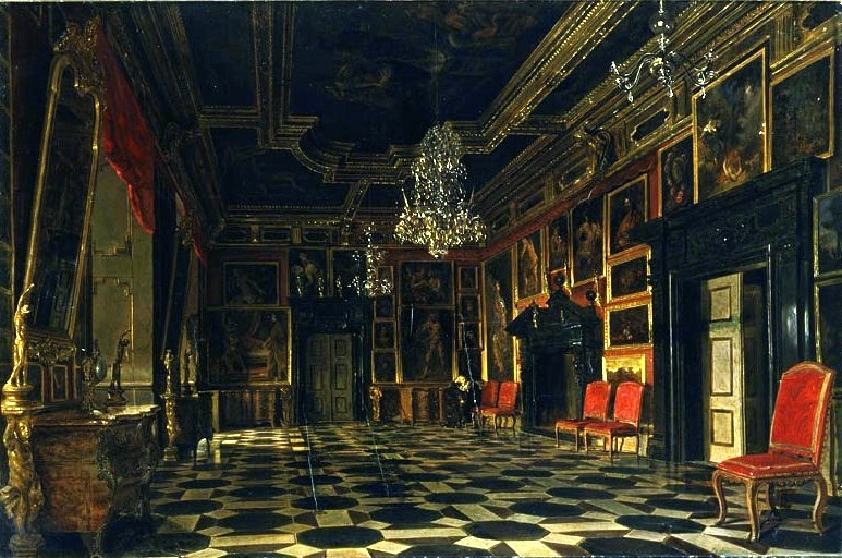 Crimson Room of the Podhorce Castle