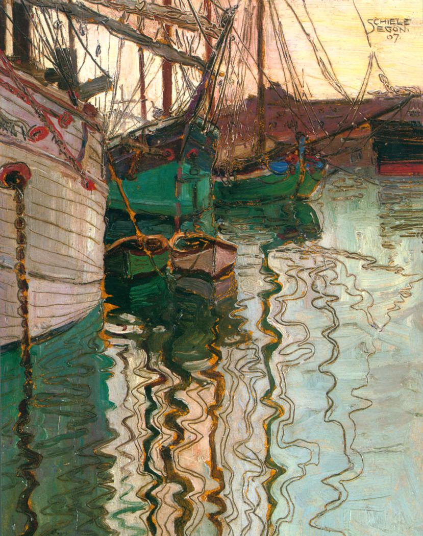 Hafen von Triest