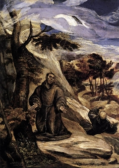 St.Francis receiving the stigmata