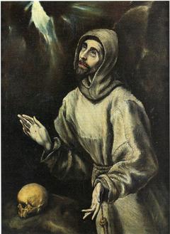 St François recevant les stigmates