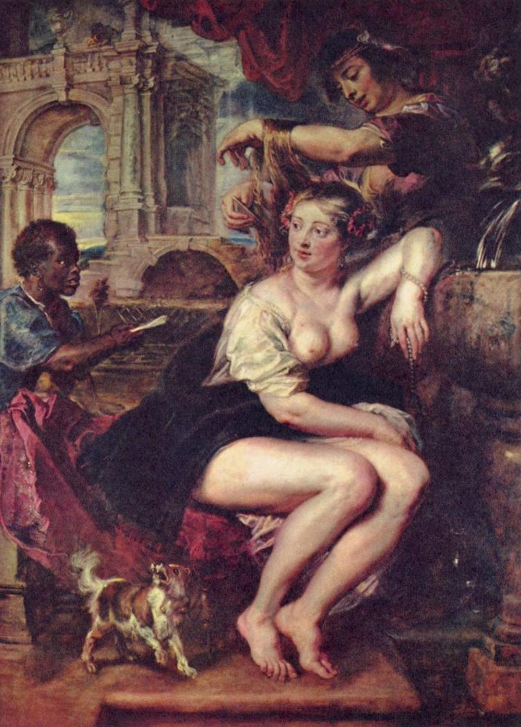Bathseba am Brunnen
