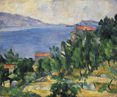 View of Mt. Marseilleveyre and the Isle of Maire (L'Estaque)