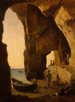 View of the Grotto at Sorrento