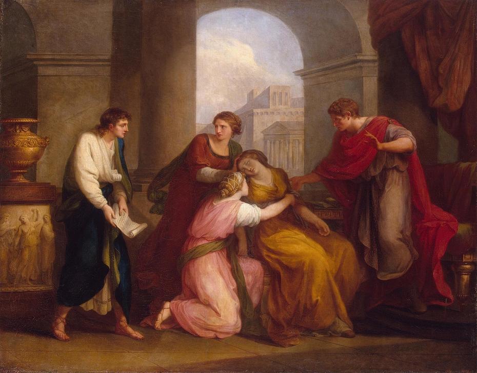 Virgil reading the ''Aeneid'' to Augustus and Octavia