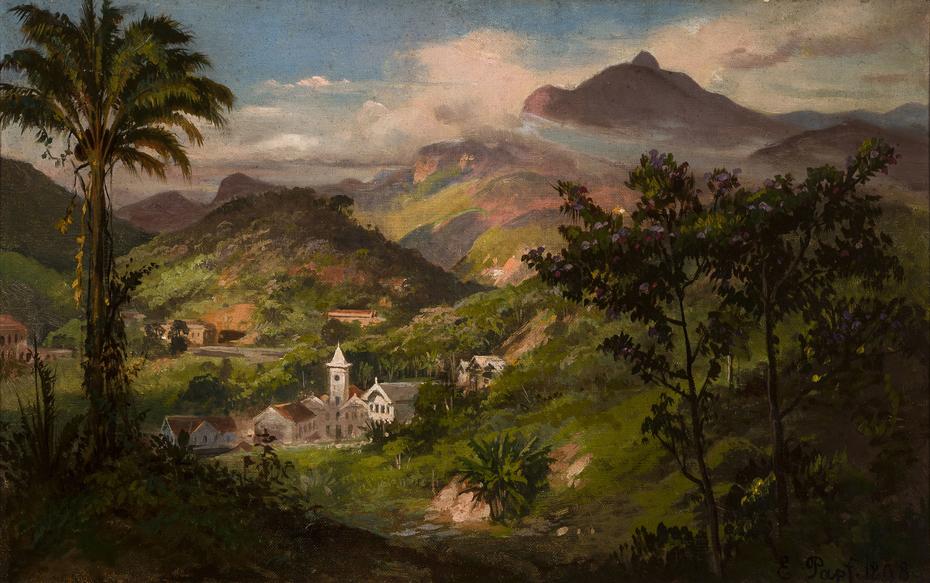 Vista de Petrópolis (atribuído)