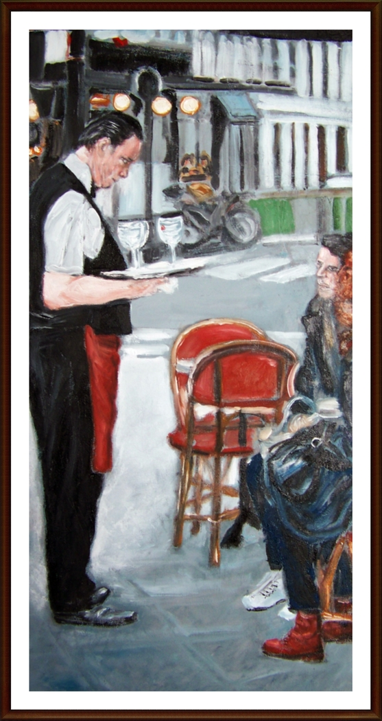Waiter in Paris