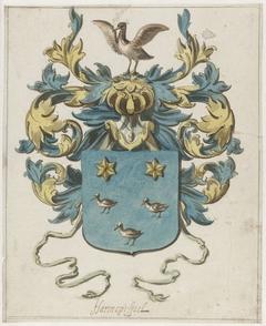 Wapenschild van Jacob van Harencarspel