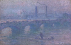 Waterloo Bridge, Morning Fog