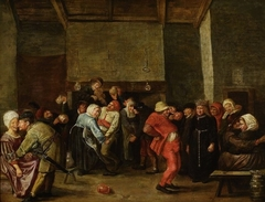 Wedding in a peasant house.