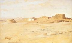 A Desert Village, Egypt