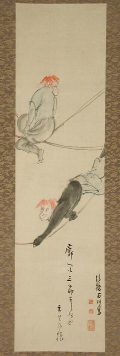 A Mibu Kyōgen Play