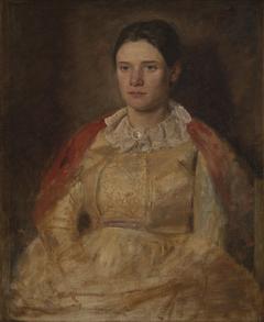 Agnete Skovgaard, f. Lange, kunstnerens hustru