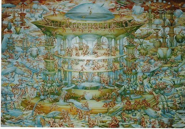 Air Palace Painting