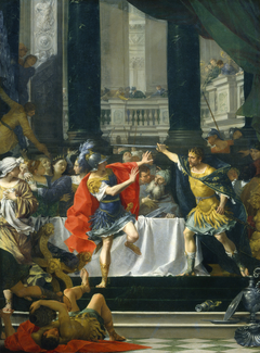Alexander the Great Threatened by His Father
