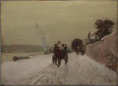 Along the Seine, Winter