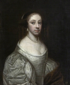 An Unknown Lady possibly Jane Carter, Mrs Richard Vernon