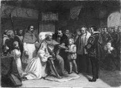 Anno 1548. Het sterven van Maximiliaan van Egmond