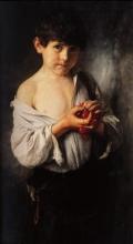 Boy with Cherries