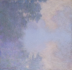 Branch of the Seine near Giverny (Mist)
