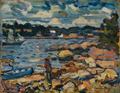 Brooksville, Maine (River & Rocks)