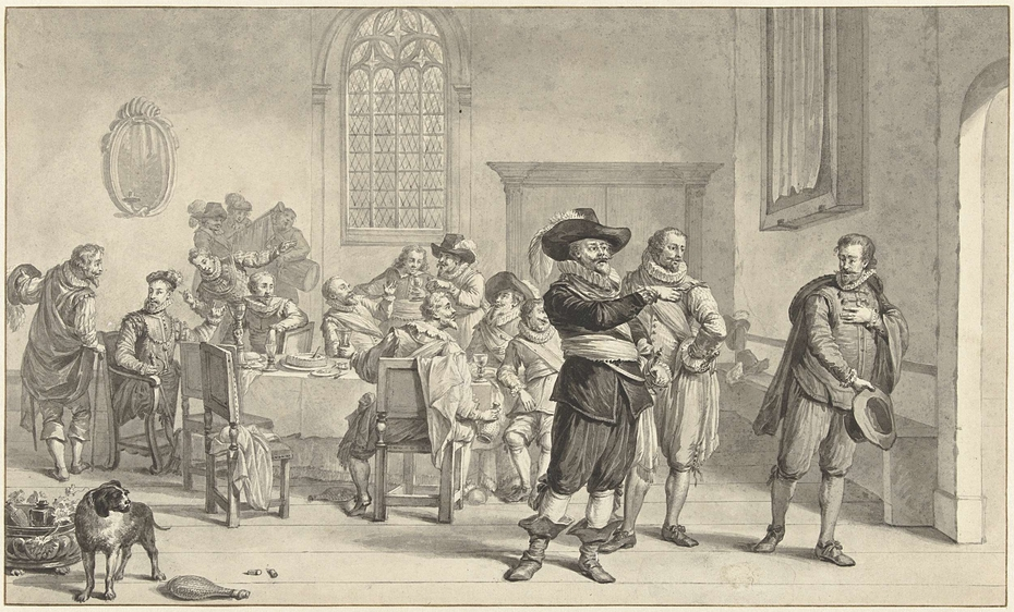 Burgemeester P.C. Boom verijdelt een aanslag van Leicester op Amsterdam, 1587