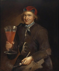 Called The Wolryche Fool, the Wolryche Hunt Servant with the Dudmaston Ale Glass