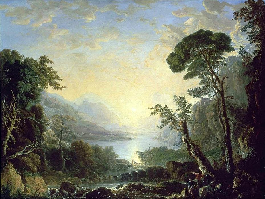 Composition, Italian Scenery