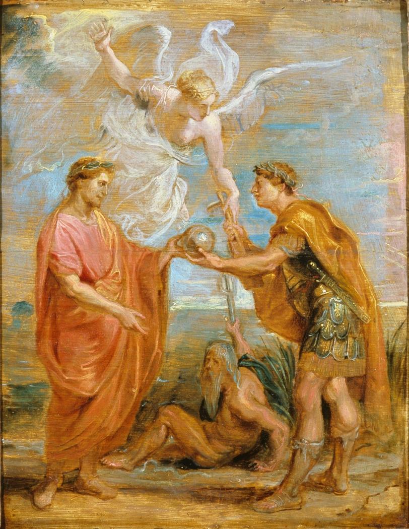 Constantius appoints Constantine as his successor