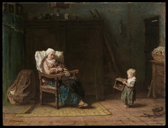 Convalescent Mother and a Child