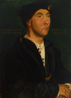 Copy of Holbein's painting Sir Richard Southwell