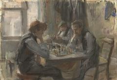 De schaakspelers