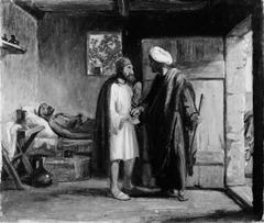 Den barmhjertige samaritan betaler værten