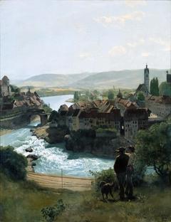 Der Rhein bei Laufenburg