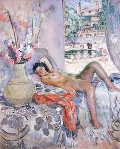 Desnudo extendido