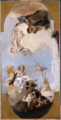 Diana, Apollo and Nymph