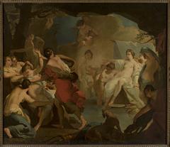 Diana's judgement of the nymph Callisto