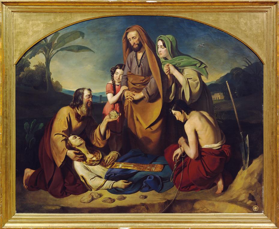 Die Beerdigung des heiligen Stephanus