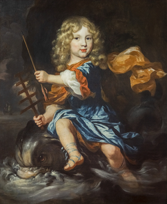 Enfant et triton