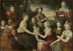 Finding of Moses – Allegorical family portrait