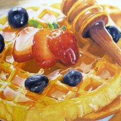 Gouache Waffle