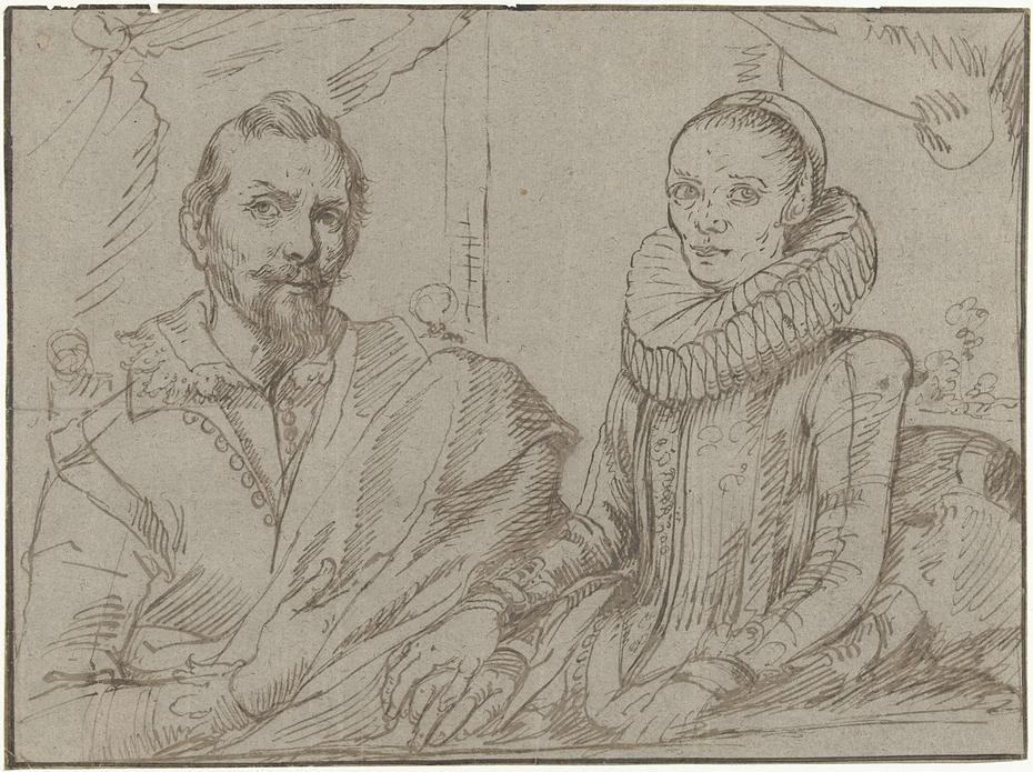 Frans Snijders en zijn vrouw Margaretha de Vos