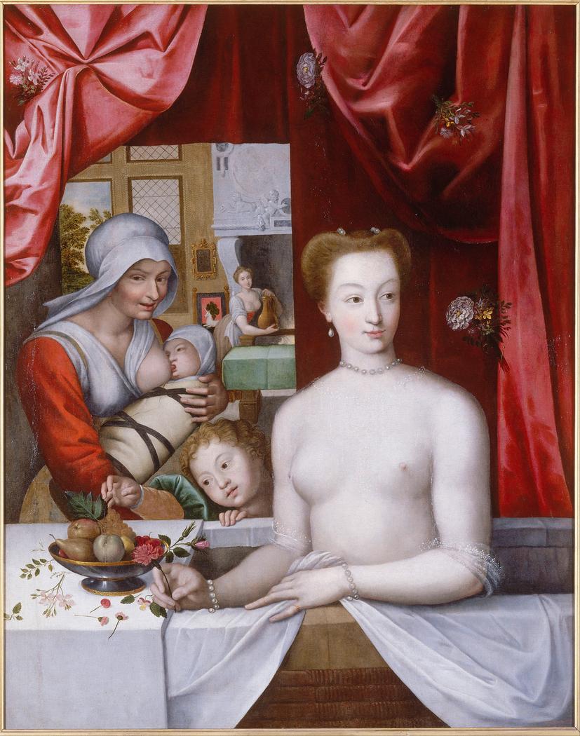 Gabrielle d'Estrées au bain